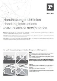 Forside fibreC Handling instruction