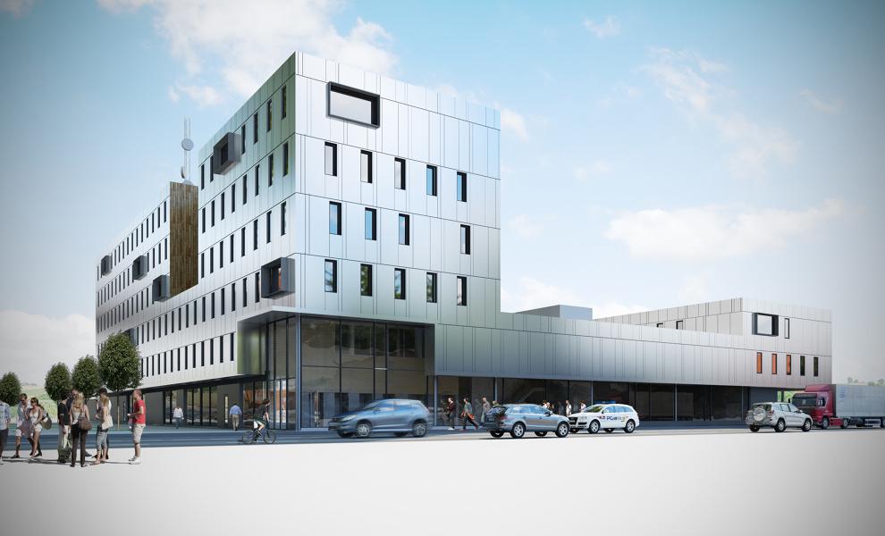 Politihuset Tromsø - Alunor Metall-3
